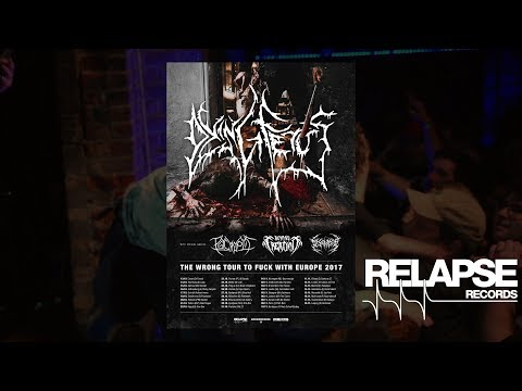 """DYING FETUS - """"The Wrong Tour To Fuck With Europe 2017"""" (Tour Tailer)"""