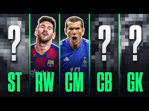 Who's The GOAT At Every Position in Football?