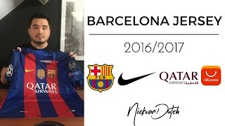 Hi everyone, im back with another unboxing and review video of a football jersey. for today i have the fc barcelona champions league le...