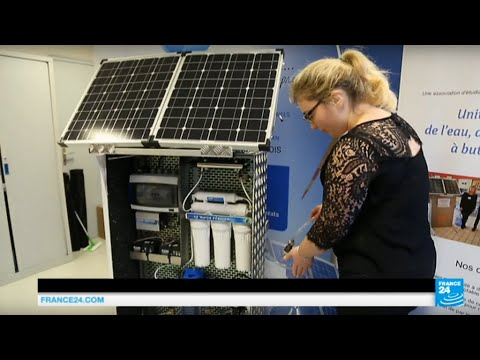 "COP21 - Highlight on ""The Global Water Project"", a solar powered machine producing drinkable water"