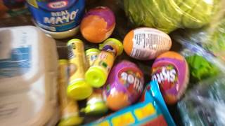 Kroger Grocery Haul + 5 times Digital Coupons