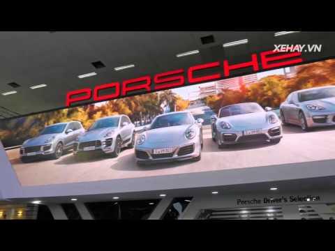 Porsche mang dàn xe sang hàng đầu tới VIMS 2015