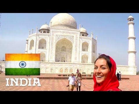 Taj Mahal in Agra & Sightseeing in Delhi - India (pt.1/3) || AUDVENTURES