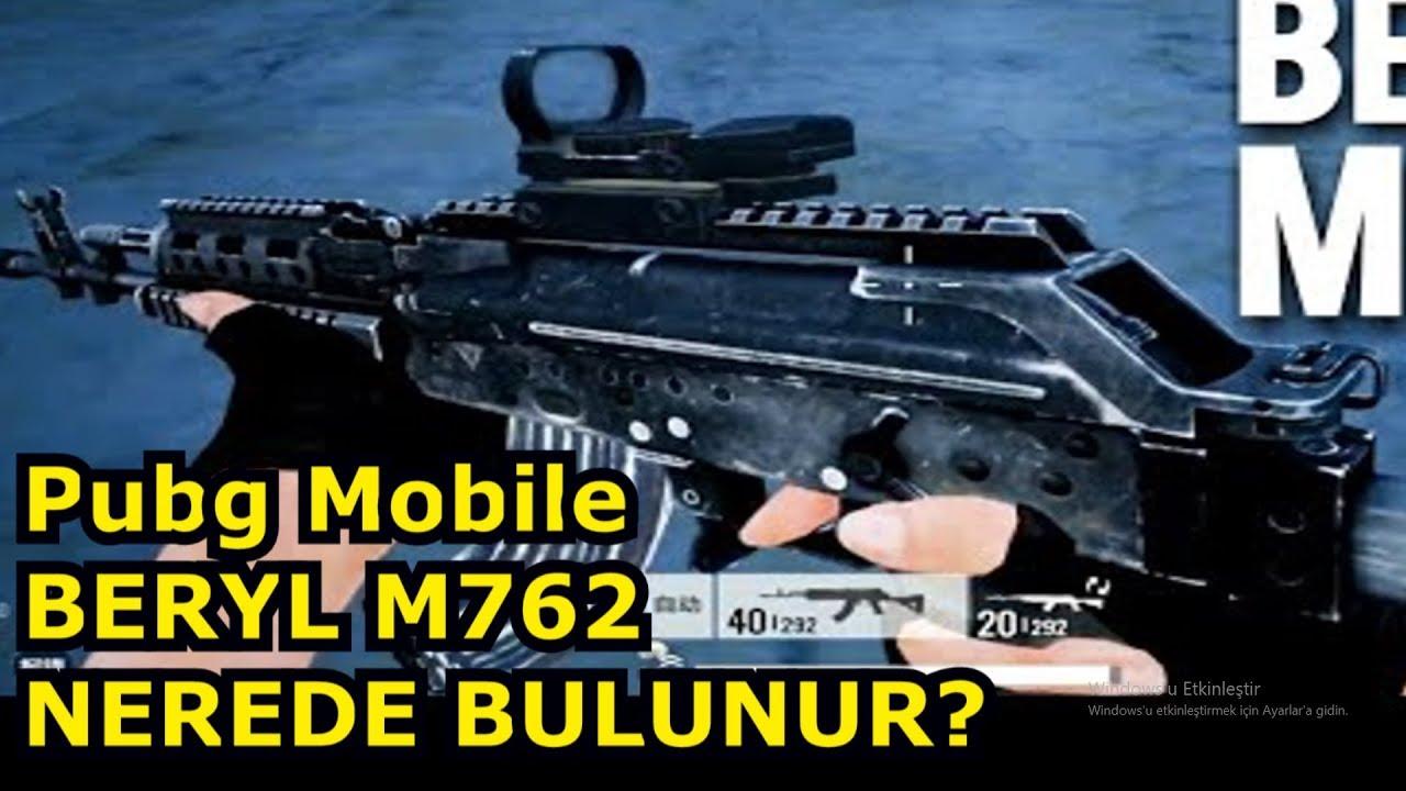 M762 Pubg: PUBG Mobile Beryl M762 Nerede Bulunur?(BETA DEĞİL)