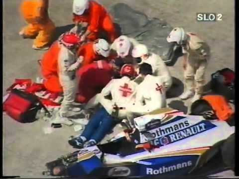 Smrt Ayrton Senna (accident death)