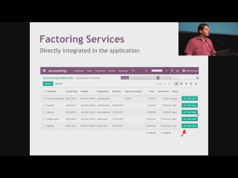 OXP Day 2 - Theatre - Tutorial - API for Services: The Next Odoo Revolution