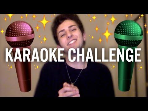 CHRISTMAS KARAOKE CHALLENGE!!! - YouTube