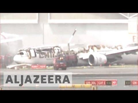 All passengers safe after Emirates Airline plane crash-lands in Dubai