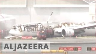 All passengers safe after Emirates Airline plane crash-lands in Dubai