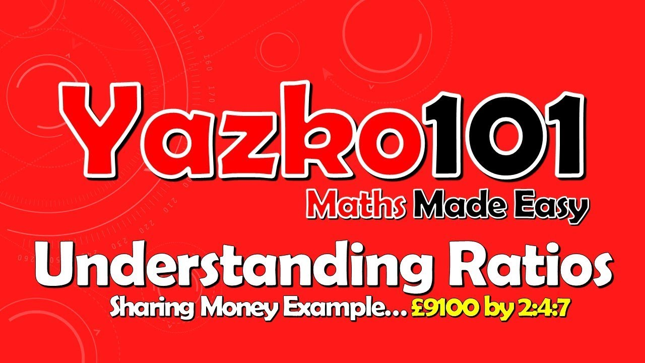 Gcse ratio proportional division sharing money example youtube gcse ratio proportional division sharing money example robcynllc Images