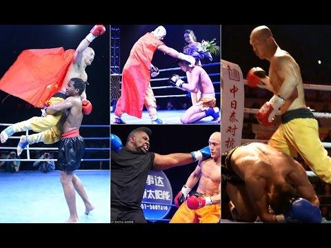 Yi Long боец Шаолиня / Победы и поражения шаолиньского монаха Йи Лонга