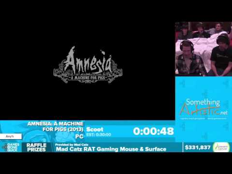 Amnesia: A Machine for Pigs by Scoot in 28:53 - Awesome Games Done Quick 2016 - Part 61 [1440p]