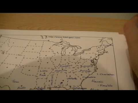 Geography Whisper: USA State Capitals (Learn With Kev!)