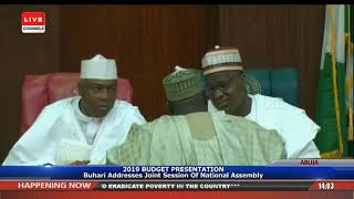 President Buhari Presents 2019 Appropriation Bill To NASS Pt.6 |Live Event|