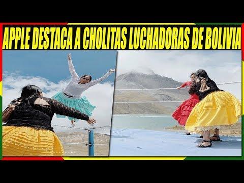 CUMBIA DE HOY - APPLE DESTACA A CHOLITAS LUCHADORAS DE EL ALTO