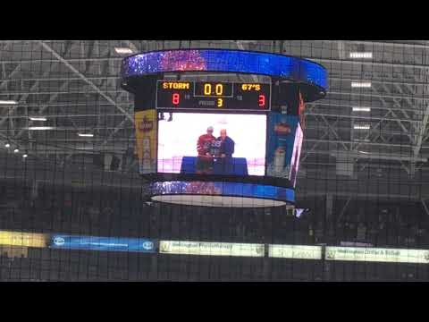 Guelph Storm OHL Championship Trophy Presentations