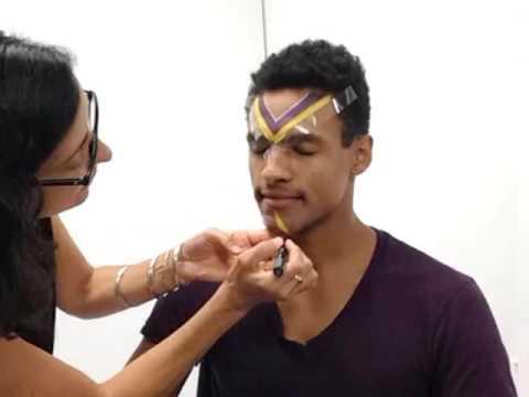 Minnesota Vikings Makeup Tutorial Male