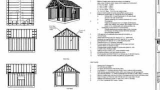 G51 18 X 20 X 10 Garage Plans