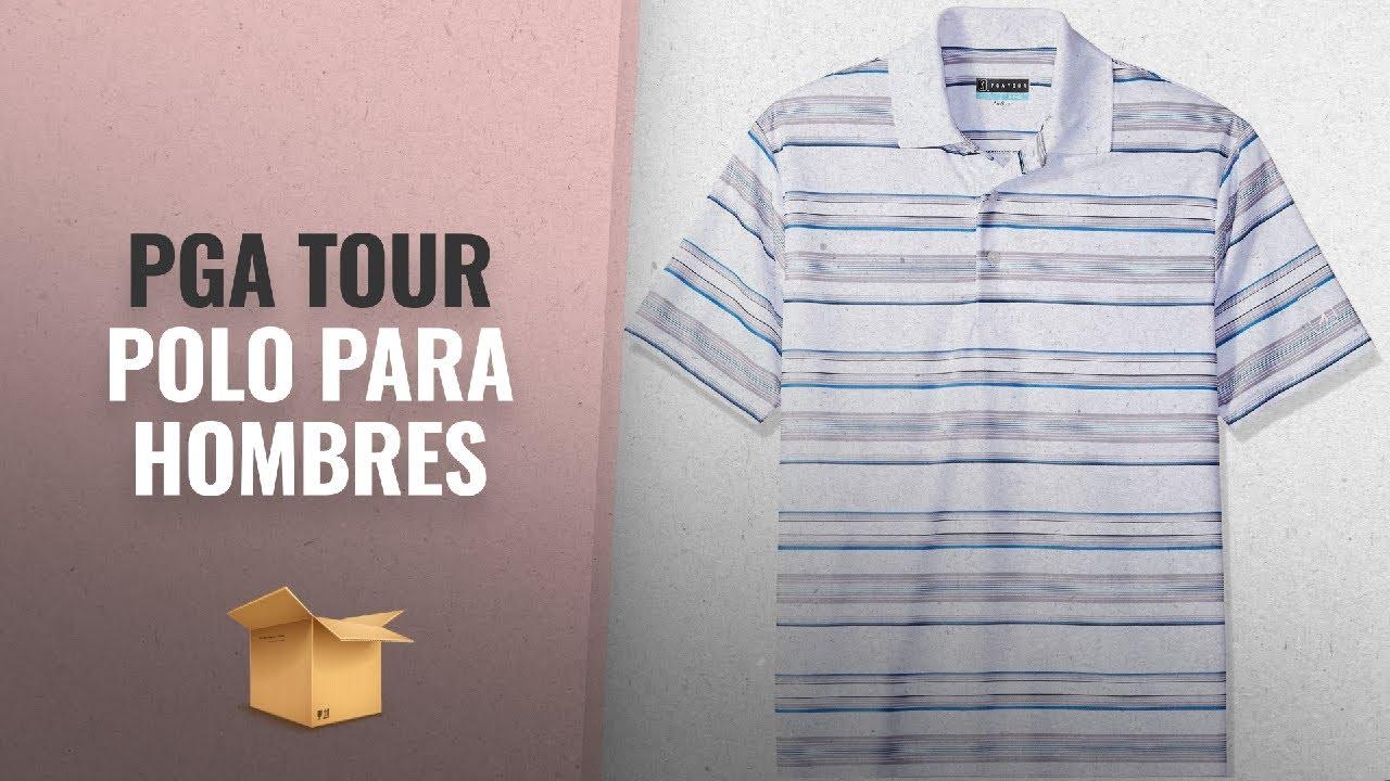 5c580e97b3 Productos 2018, Los 10 Mejores Pga Tour: PGA TOUR Men's Short Sleeve Energy  Airflux Printed Striped