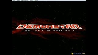 DemonStar gameplay (PC Game, 1998)
