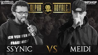 Ssynic vs. Meidi | ALPHA ROYALE FINALE TOPTIER TAKEOVER