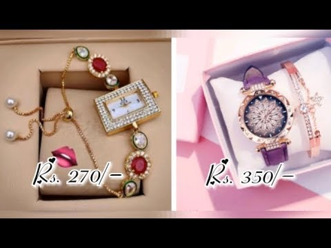 Stylish Analog Watches | Online Shopping | Women's Shopping World | WhatsApp 6385113111