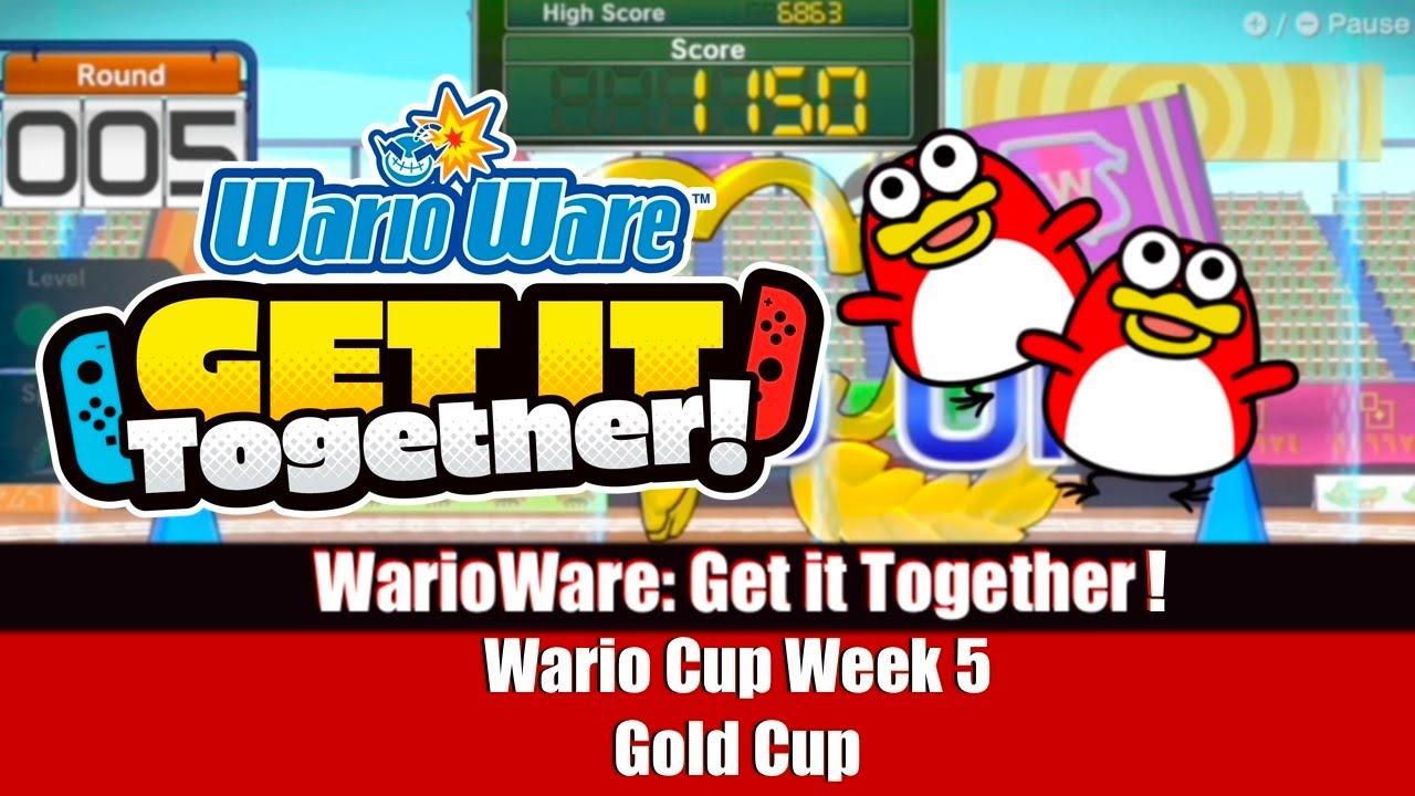 WarioWare: Get it Together! - Wario Cup Week 5 Gold Cup