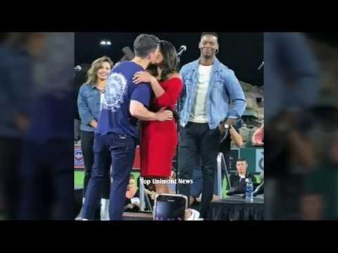 Priyanka Chopra Hot Latest Kiss to Beau Nick Jonas In Public