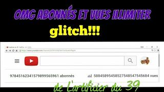 """""""GLITCH""""avoir Des Abonnés Et Des Vues Illimiter"""