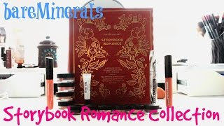 BareMineral Storybook Romance Collection Review + Demo | Holiday 2015