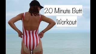 20 Minute BUTT workout // Monica Aksamit