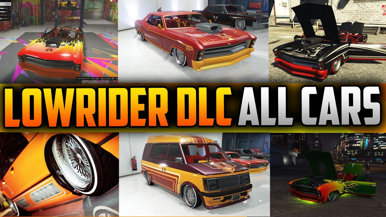 Grand Theft Auto 5 Car Wallpaper Gta 5 Lowrider Dlc Update All Cars Fully Customized