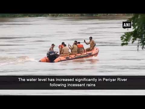 Kerala floods: Aluva Shiva Temple submerges in Periyar River