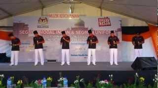 Caliph@Navy (soundcheck final nasyid himpunan sejuta belia putrajaya 2012)