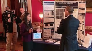Download President Obama Tours the 2015 White House Science Fair Exhibits Mp3 and Videos