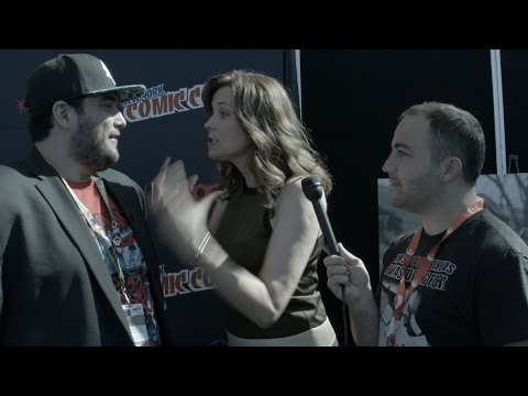 Creepy Reporter Ejected from Lucy Lawless Interview