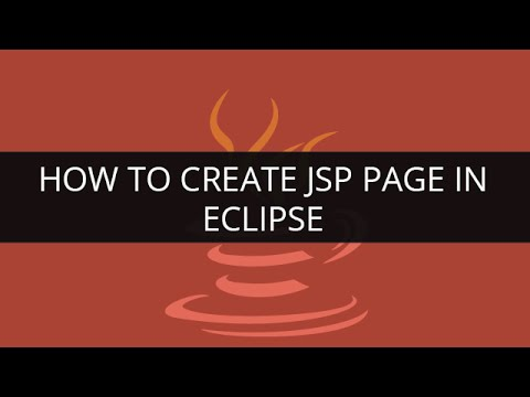 How to Create JSP Page in eclipse | JSP Tutorial | Java Tuto