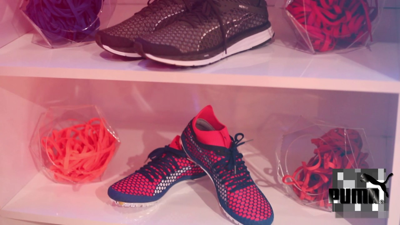 PUMA Unveils NETFIT in NYC (pt. 1)