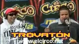 Tiraera en el Trovaton Guelo Star vs. Carlos Cordero en El Circo de La Mega