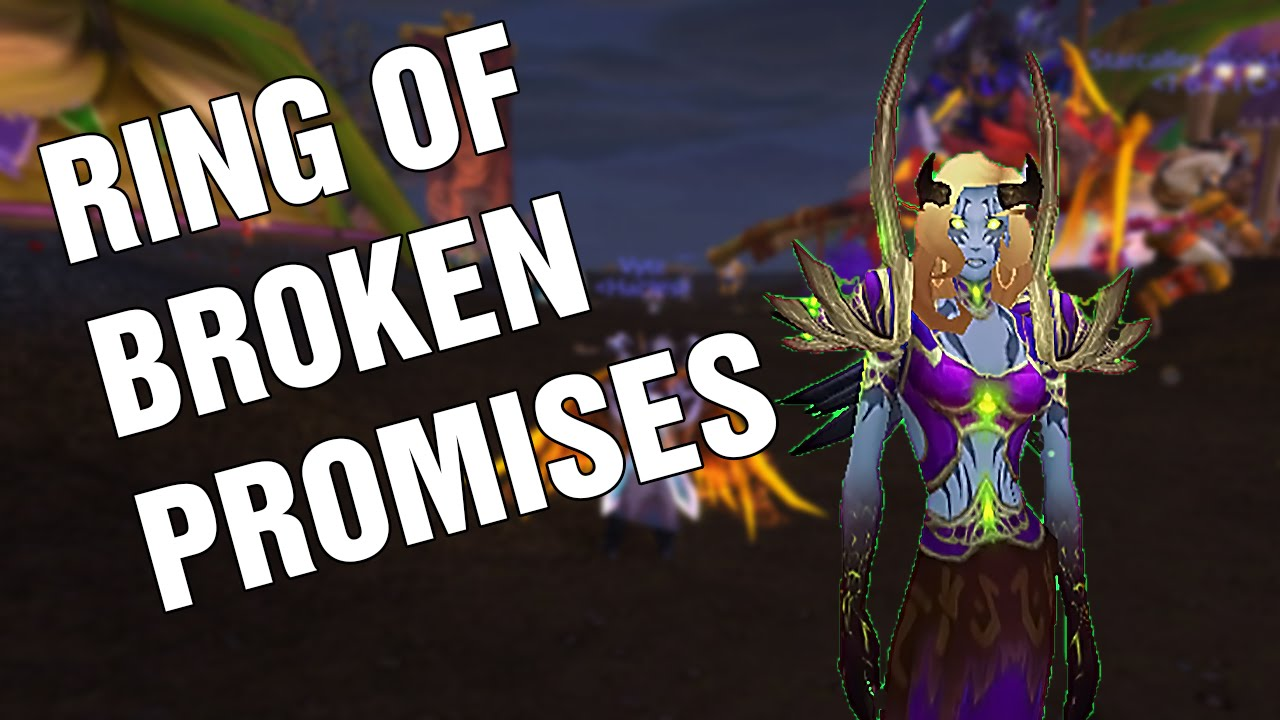 Wow How To Get Ring Of Broken Promises Darkmoon Faire