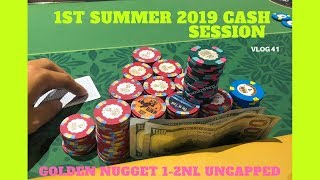 I Travel to Vegas for Golden Nugget 1-2NL Uncapped