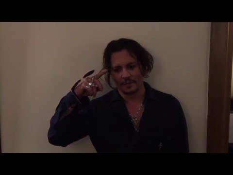 What's your favorite Mad Hatter quote?-Johnny Depp