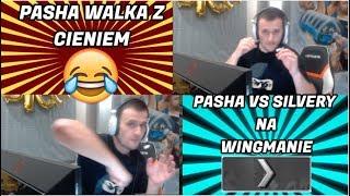 PASHABICEPS GRA PIERWSZY RAZ WINGMANA NA SILVERY !!! | PASZA WALKA Z CIENIEM | dycha 1 vs 5