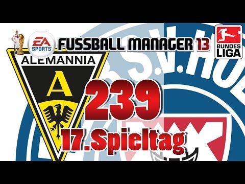Fussball manager lets play 239 17 spieltag  alemannia aachen fm lp 2014 karriere