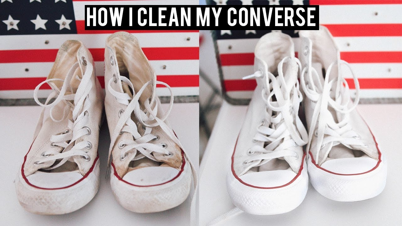 a31bb9fa244a11 How I Clean my White Converse