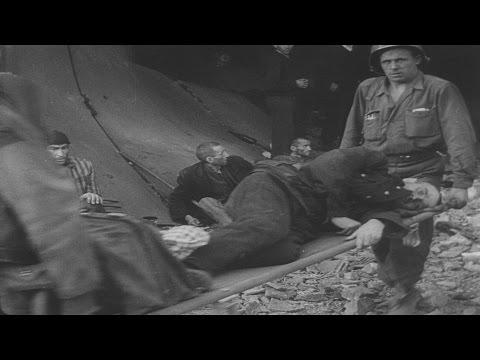 newsreel german camps