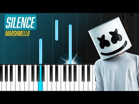"Marshmello - ""Silence"" ft Khalid Piano Tutorial - Chords - How To Play - Cover"
