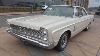 1966 Cream Plymouth Fury III Walkaround