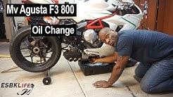 Mv Agusta F3 800 Oil & Filter Change