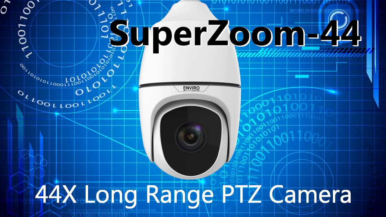 SuperZoom-44 Long Range IP PTZ